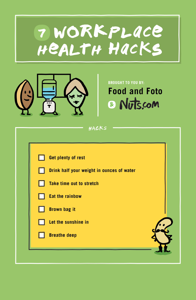 2Food and Foto Workplace Hacks